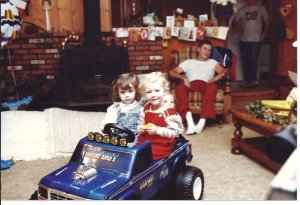 Pretty sure Teri Lee and I would have preferred a Barbie Jeep.
