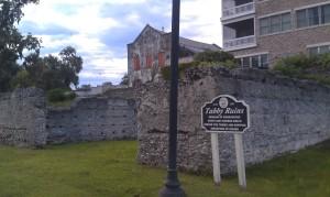 Tabby ruins in downtown Darien