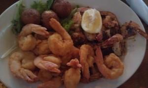 Dinner in Darien.