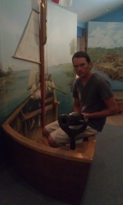 In the museum.
