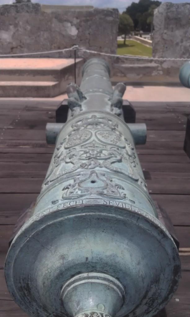 Spanish canons.