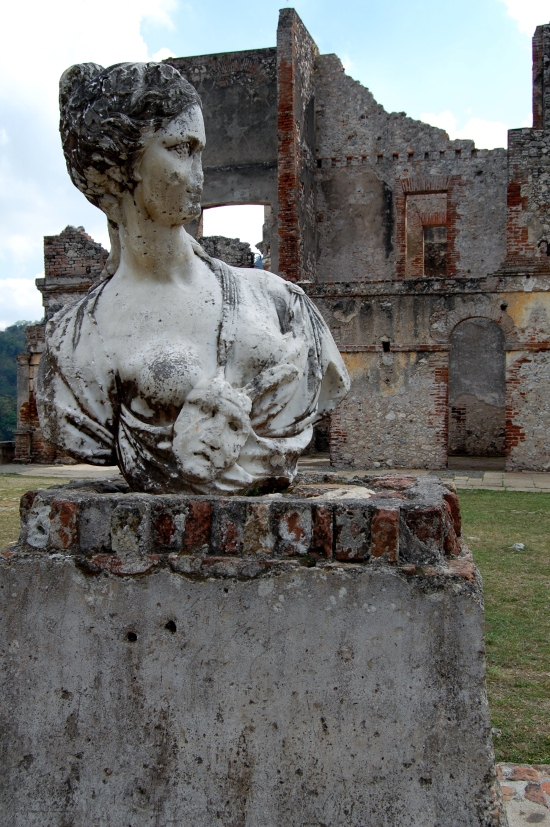 Statue at San Souci